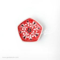 ظرف پنج ضلعی متوسط گل انار اروشا محصولات