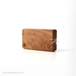 کیف چوبی مثلث تنها اورس گنجه رخت