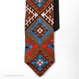 کراوات سوزندوزی طرح 1 بزمان گنجه رخت