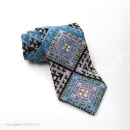کراوات سوزندوزی طرح 2 بزمان گنجه رخت