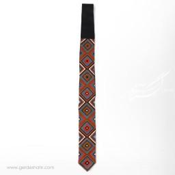 کراوات سوزندوزی طرح 3 بزمان گنجه رخت