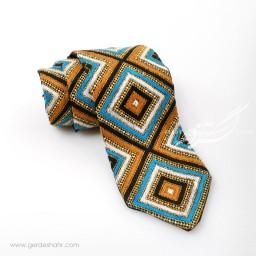 کراوات سوزندوزی طرح 4 بزمان گنجه رخت