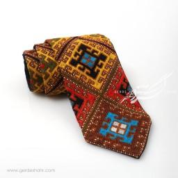 کراوات سوزندوزی طرح 6 بزمان گنجه رخت