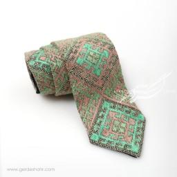 کراوات سوزندوزی طرح 7 بزمان گنجه رخت