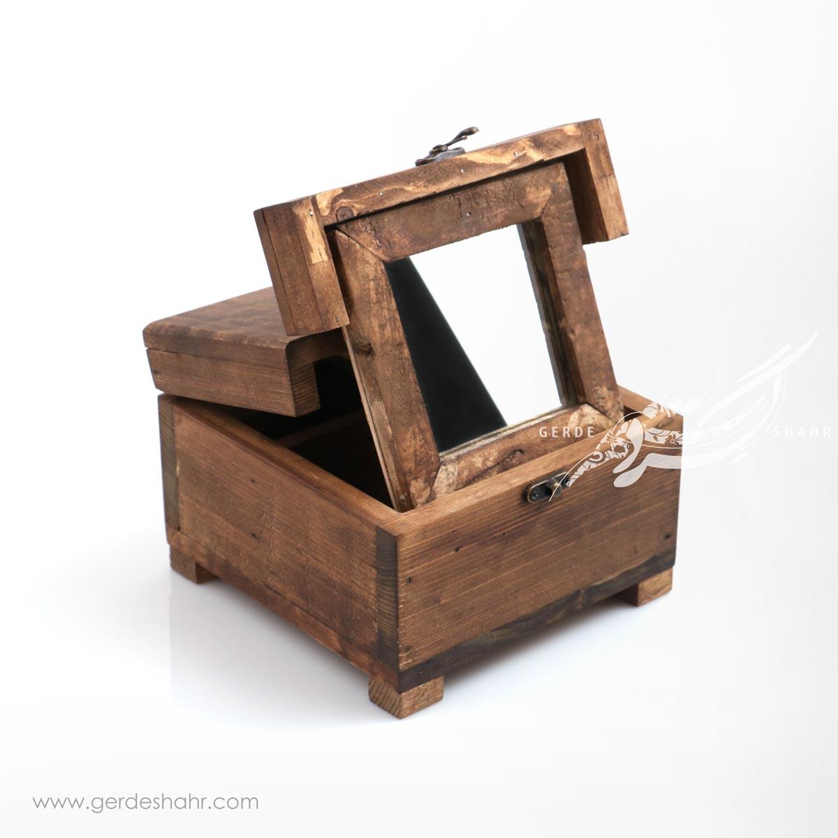 جعبه آینه مربع همدم کندو محصولات