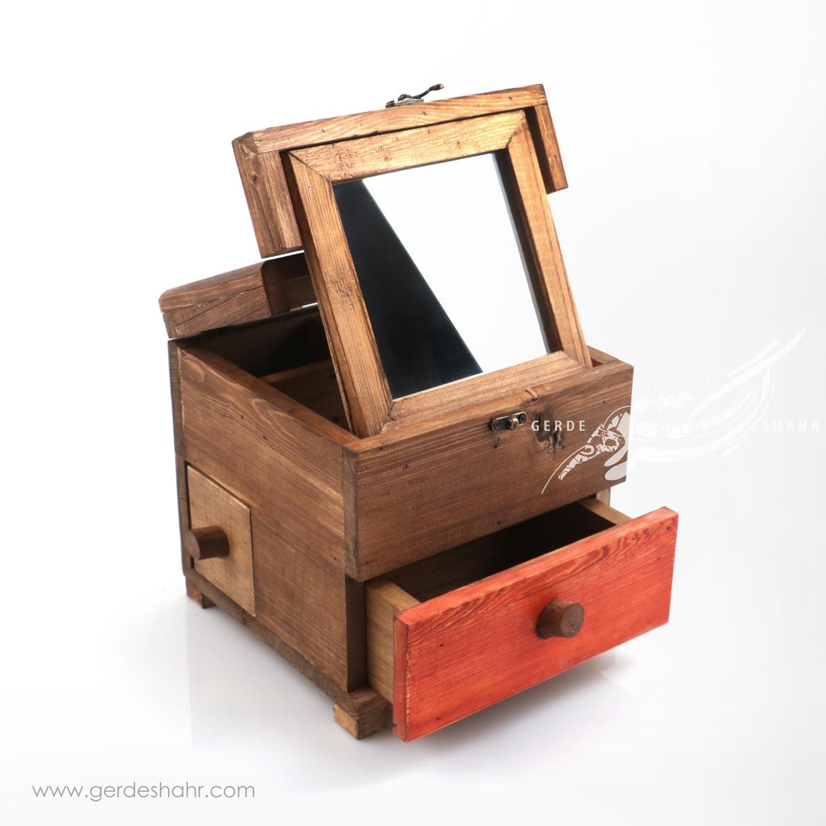 جعبه آینه مربع دلبر کندو محصولات