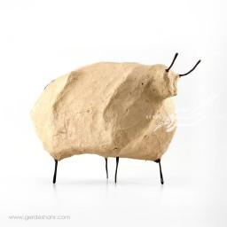 مجسمه پاپیه ماشه گاو بزرگ داچی محصولات
