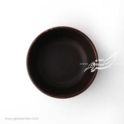 کاسه چوبی رنگ قهوه ای سوخته 24 دکواکو محصولات