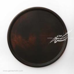 سینی چوبی رنگ  قهوه ای سوخته 36 دکواکو محصولات