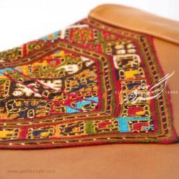 کیف چرم و سوزندوزی بلوچ دوز گنجه رخت