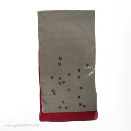 شال ناردون سبز یشمی عرض 50 گدار گنجه رخت