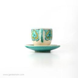 فنجان نعلبکی باغ نارون گل محمدی محصولات