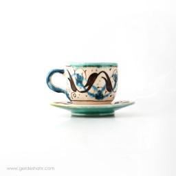 فنجان نعلبکی کرشمه گل محمدی محصولات