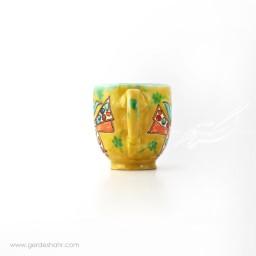 ماگ سرامیکی پرنده مازندران گل محمدی محصولات