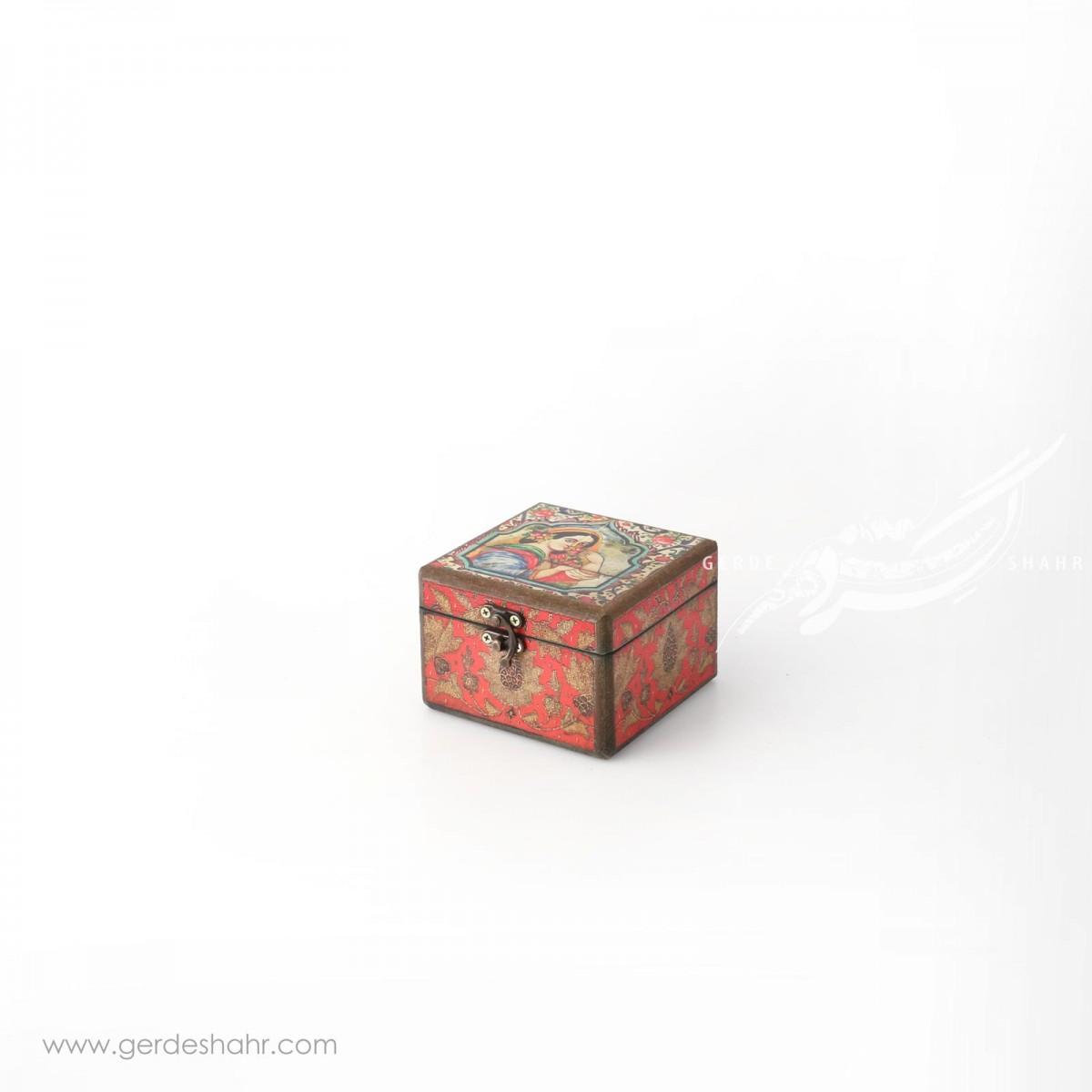 جعبه چوبی خاتون سایز 10 هفتگان جعبه و صندوقچه
