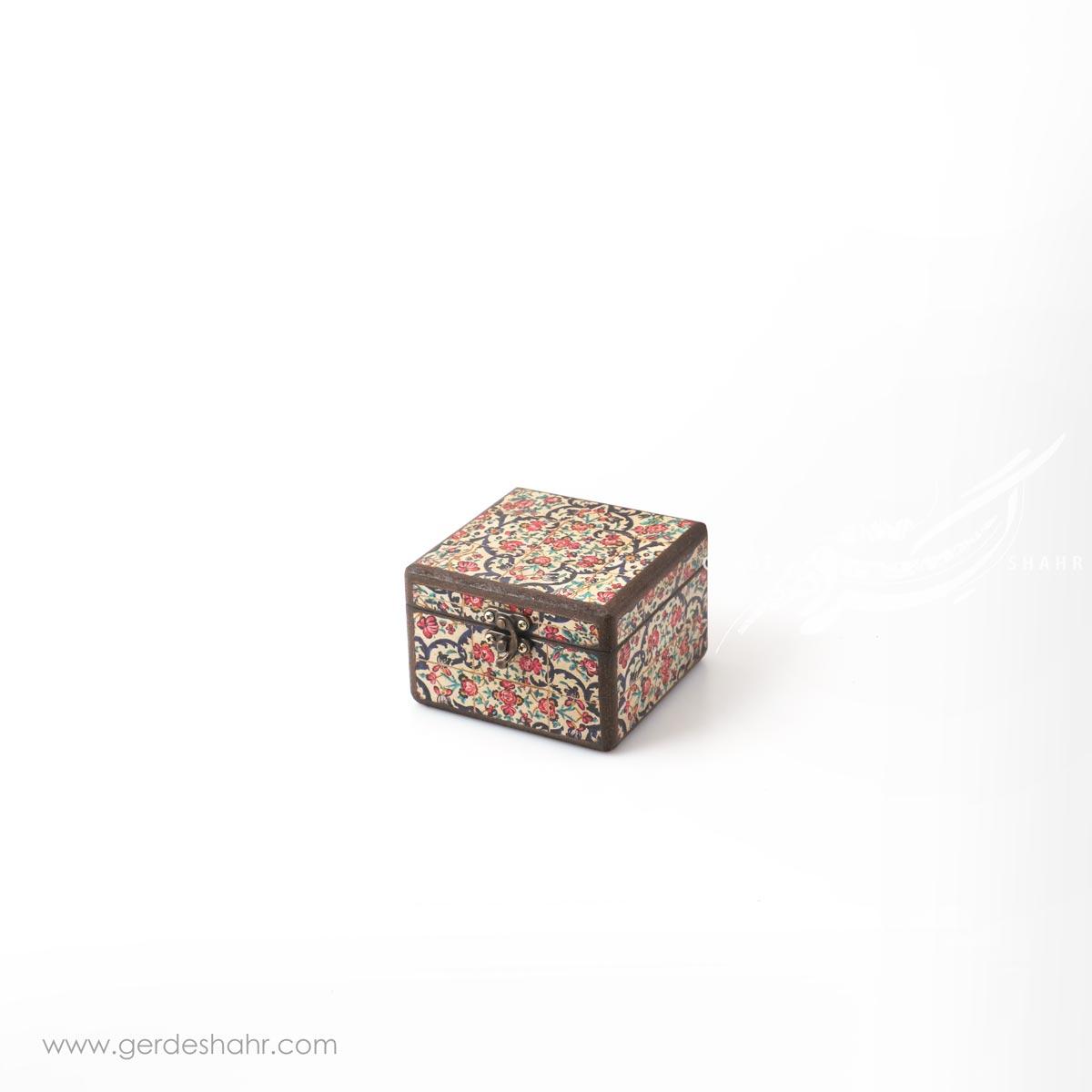 جعبه چوبی نوای گل سایز 10 هفتگان اکسسوری