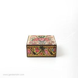 جعبه چوبی نقش گلدان 2 سایز 20 هفتگان محصولات