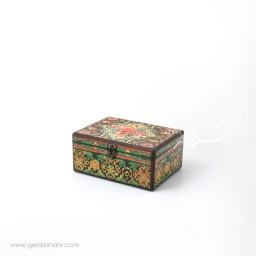 جعبه چوبی دریچه سایز 15*20 هفتگان جعبه و صندوقچه