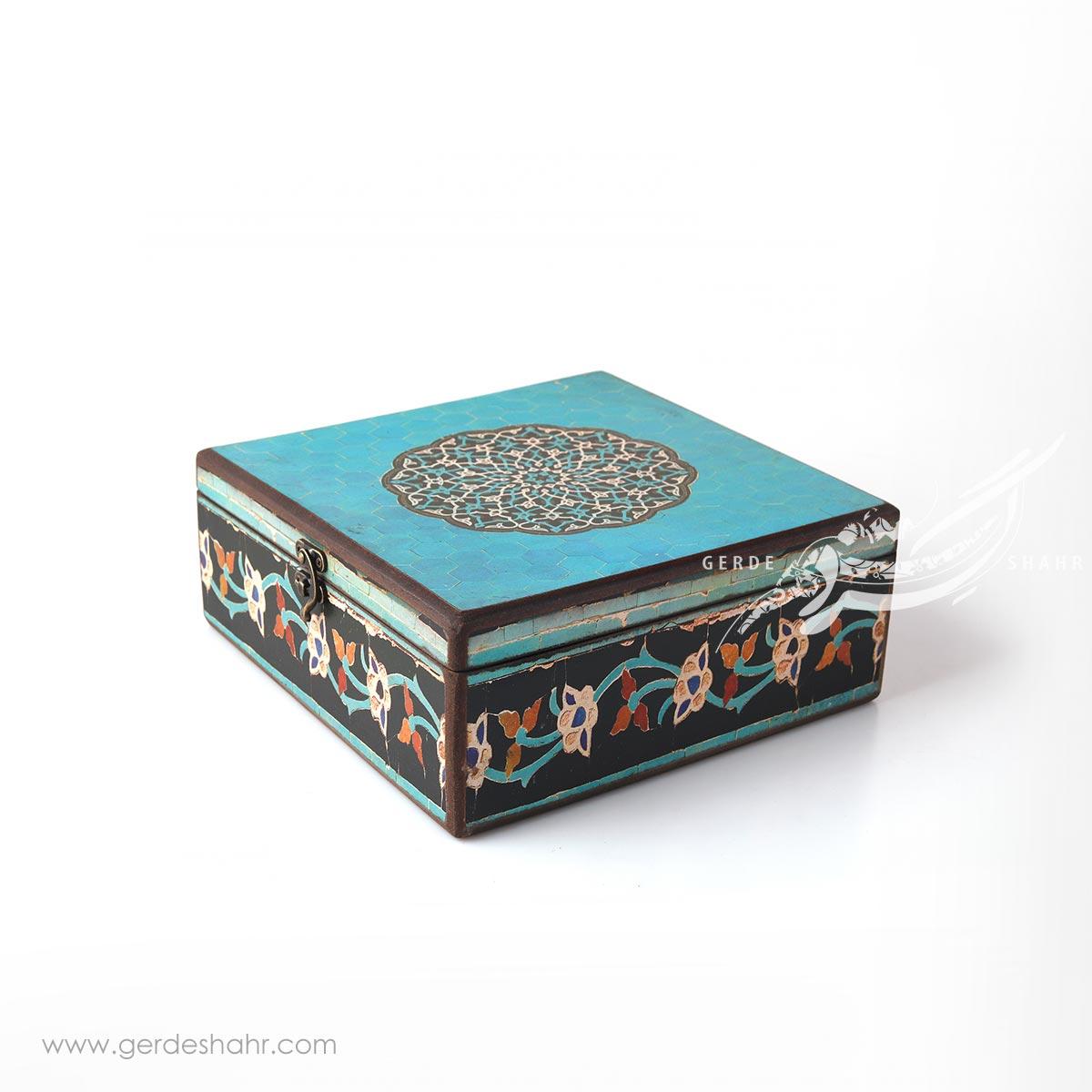 جعبه چوبی ایوان سایز 25 هفتگان محصولات
