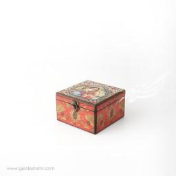 جعبه چوبی خاتون سایز 1۵ هفتگان جعبه و صندوقچه