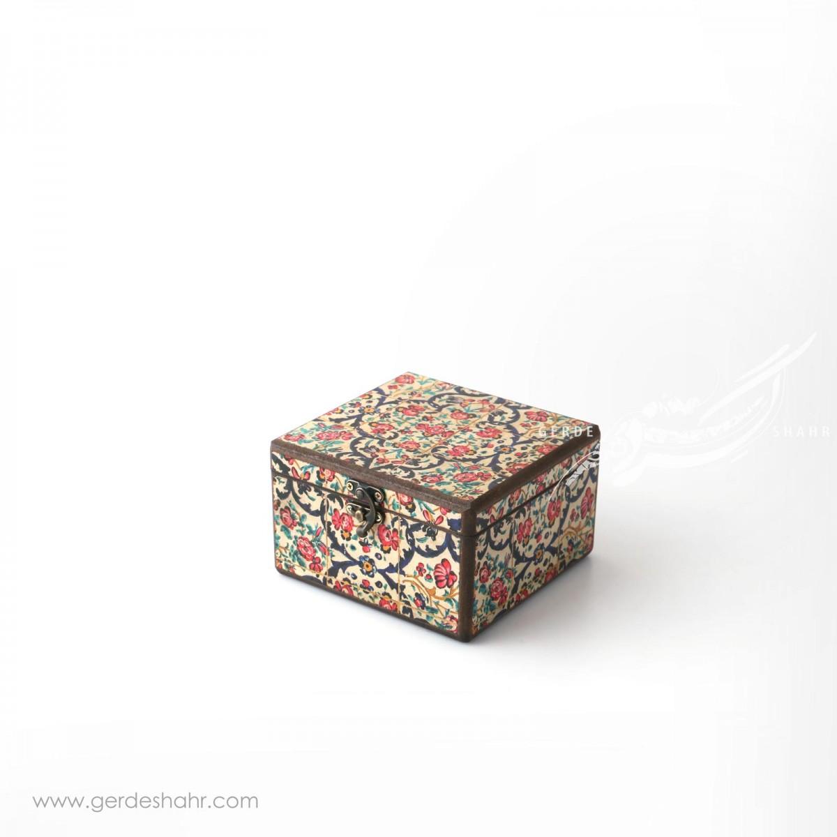 جعبه چوبی نوای گل سایز 15 هفتگان اکسسوری