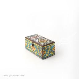 جعبه چوبی گل کاشی سایز 10*20 هفتگان جعبه و صندوقچه