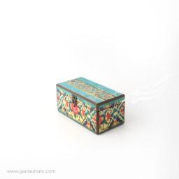جعبه چوبی حوض کاشی سایز 10*20 هفتگان جعبه و صندوقچه
