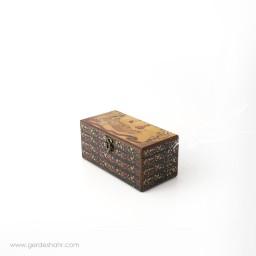 جعبه چوبی تفرج سایز 10*20 هفتگان جعبه و صندوقچه