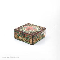 جعبه چوبی دریچه سایز 20 هفتگان جعبه و صندوقچه