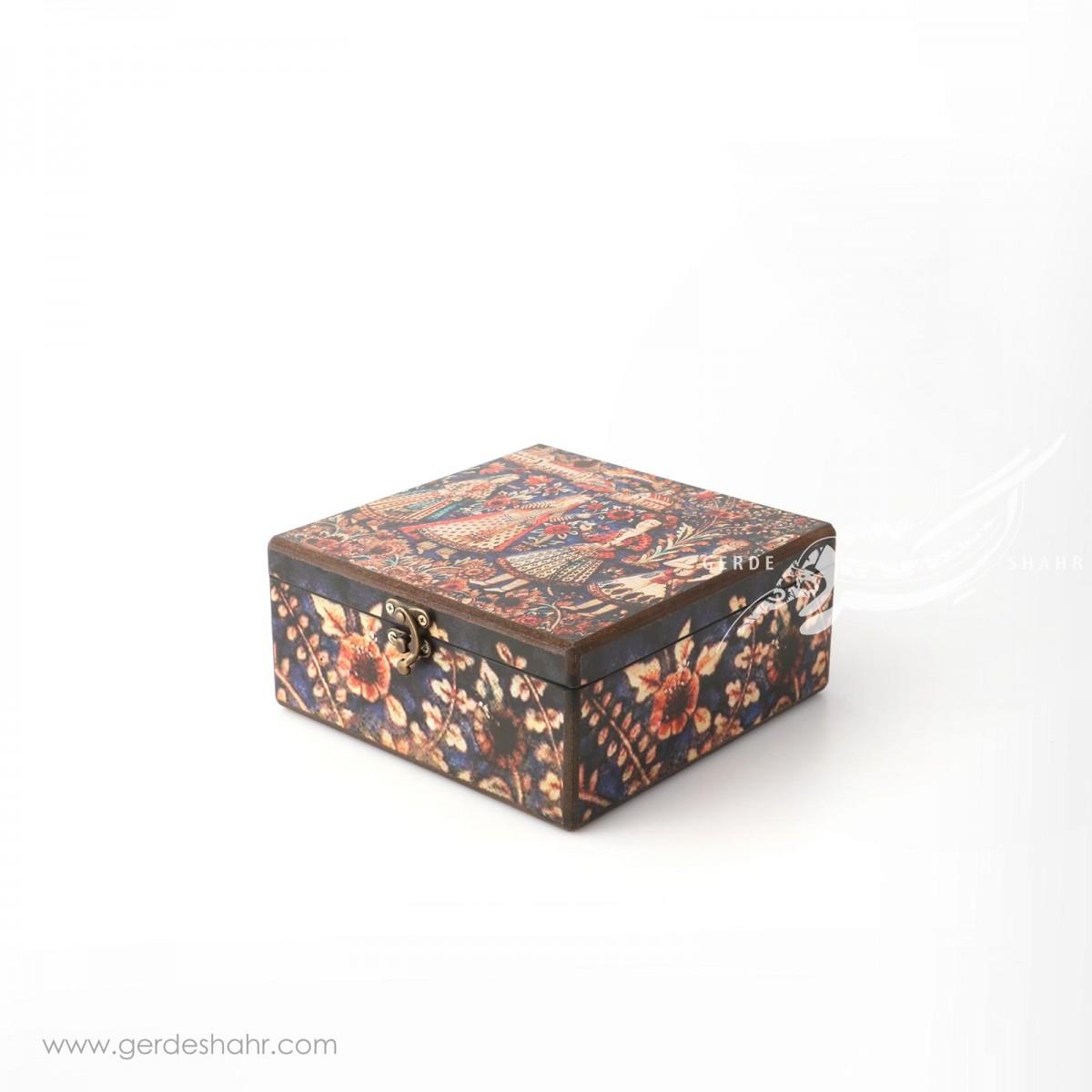 جعبه چوبی دیدار سایز ۲۰ هفتگان جعبه و صندوقچه