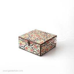 جعبه چوبی نوای گل سایز 20 هفتگان اکسسوری