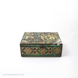 جعبه چوبی شکار سایز 20*25 هفتگان جعبه و صندوقچه