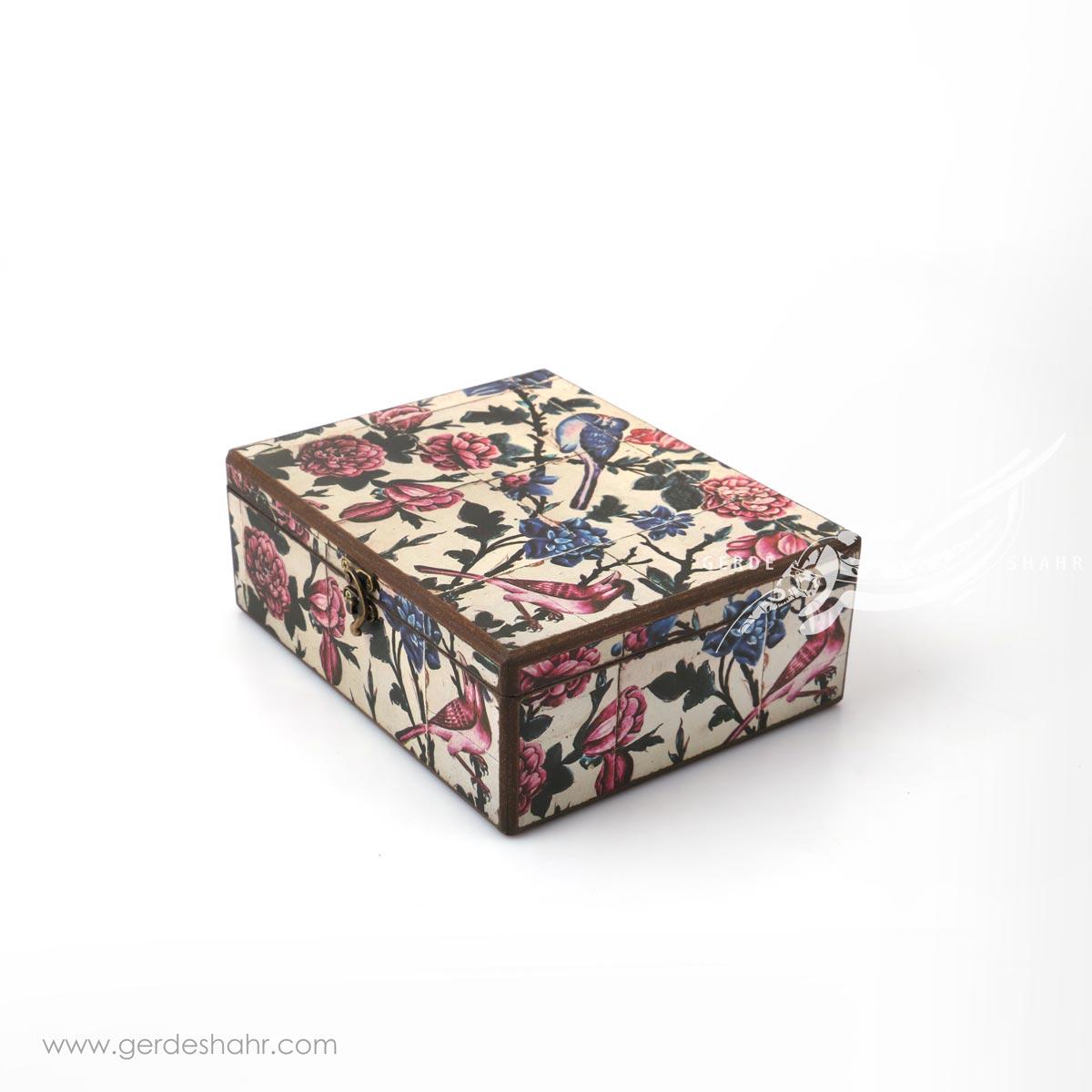 جعبه چوبی نغمه بهار سایز 25*20 هفتگان محصولات