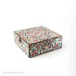 جعبه چوبی نوای گل سایز ۲5 هفتگان جعبه و صندوقچه