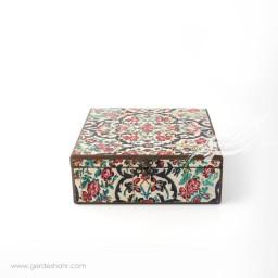 جعبه چوبی نوای گل سایز 25 هفتگان جعبه و صندوقچه