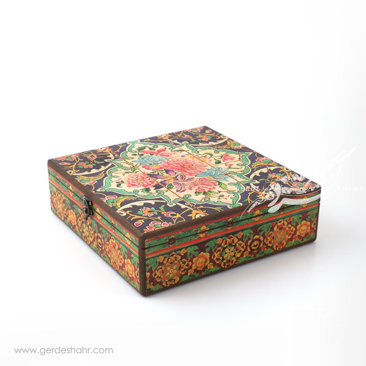 جعبه چوبی دریچه سایز 30 هفتگان اکسسوری