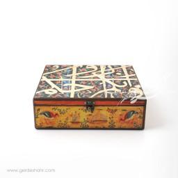 جعبه چوبی کتیبه سایز 30 هفتگان محصولات