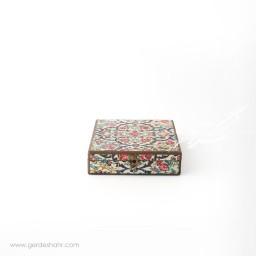 جعبه چوبی کتابی نوای گل هفتگان جعبه و صندوقچه