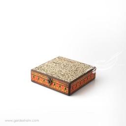 جعبه چوبی کتابی سیاه مشق هفتگان اکسسوری