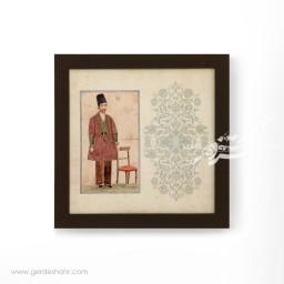 تابلو دیواری مجموعه قاجار شماره 2 هیرا محصولات