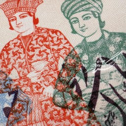 تابلو دیواری مجموعه قاجار شماره 3 هیرا محصولات
