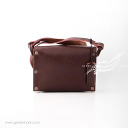 کیف دوشی لوتوس جوان چرم گنجه رخت