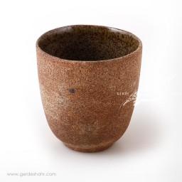 لیوان سرامیکی بدون دسته استونور کاگیا طرح پنج