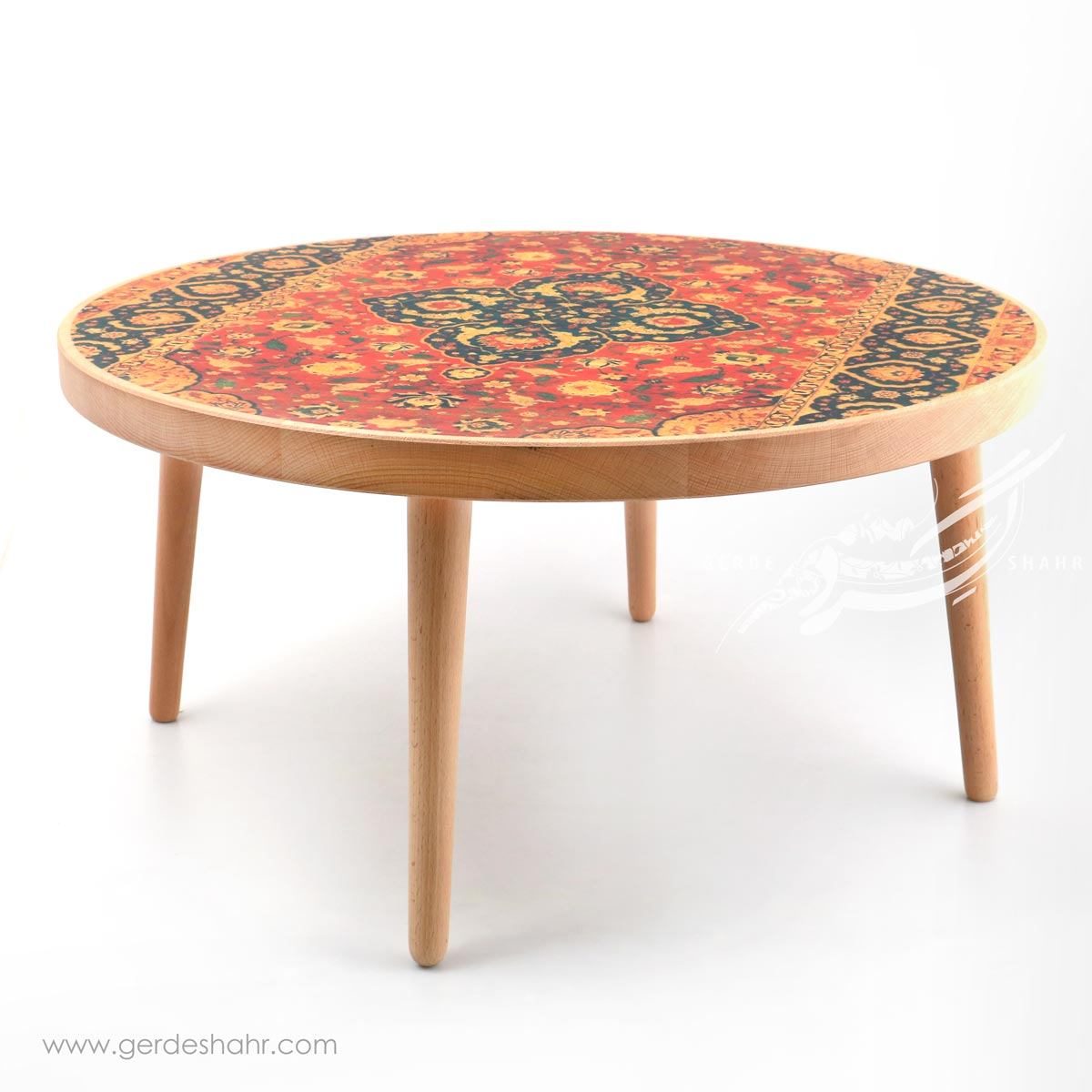 میز بزرگ رویای بهشت کاشان کارمان محصولات