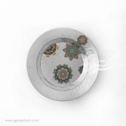 پیش دستی مسی دایره گلستان خاکستری محصولات