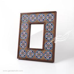 آینه چوبی قاب کاشی کیمیاگر محصولات