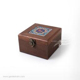 جعبه چوبی کاشی طرح 3 کیمیاگر محصولات