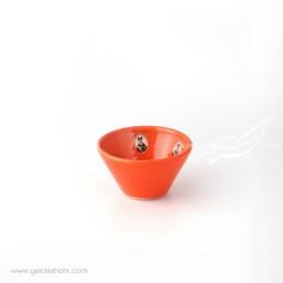 کاسه گود نارنجی قاجار سایز ۹ ماه فروز محصولات