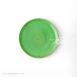 بشقاب پیش دستی سبز ماه فروز محصولات
