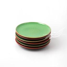 ست 6 عددی بشقاب پیش دستی قرمز و سبز ماه فروز محصولات